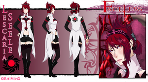 Lescaria Seele: Character Sheet by RhIVenX