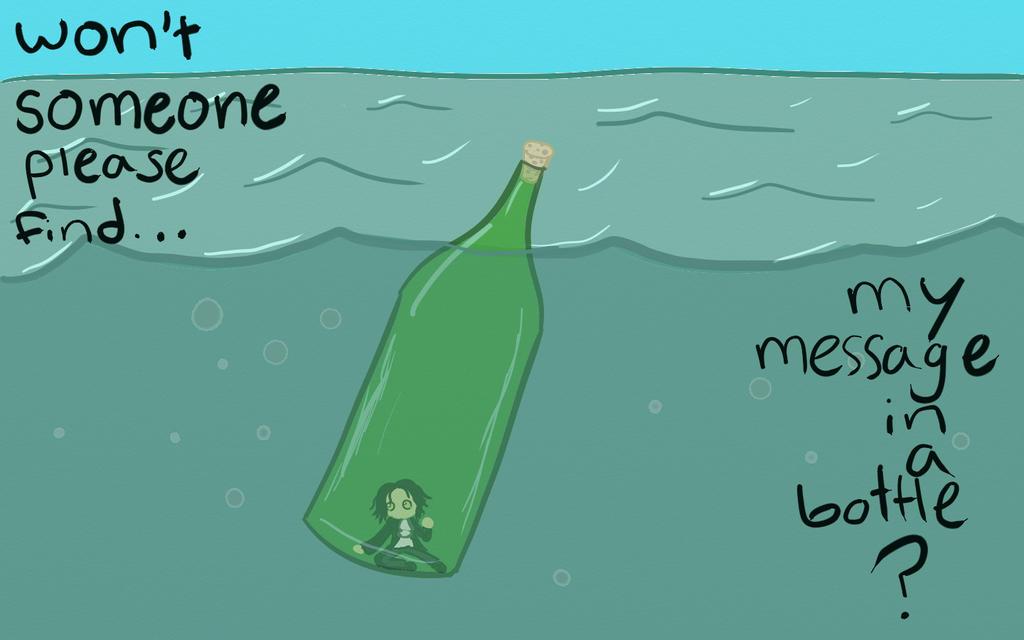 Message in a Bottle by kirameki87