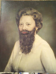 The Bearded Woman by LilithVallin