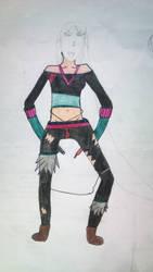 Primeira pintura no desenho by 3manu3ll3
