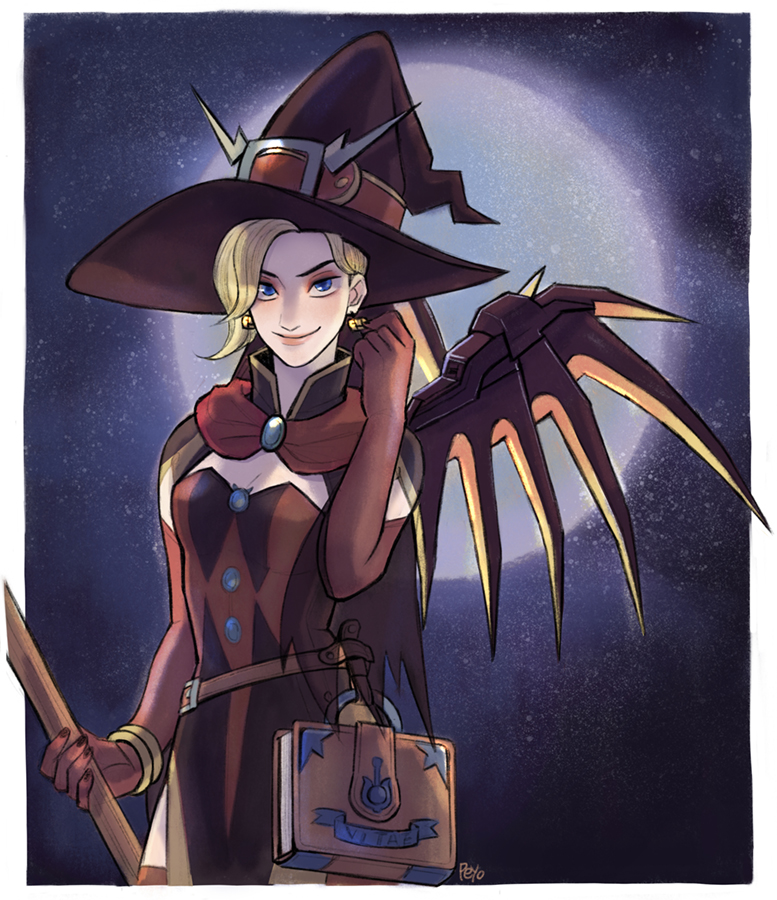 Halloween Mercy by peyoberry on DeviantArt