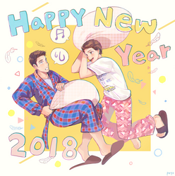 Happy New Year! by peyoberry