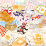 Breakfast time with Ant-Man and The Wasp