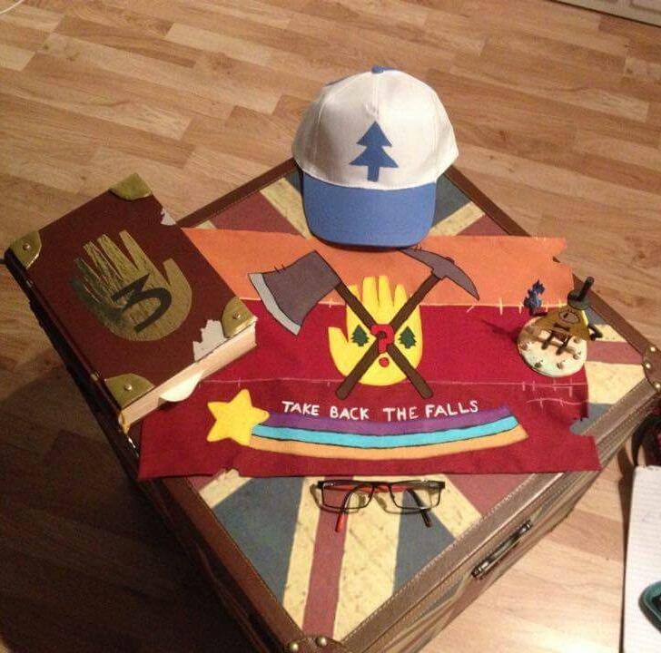 Nerd Table for Gravity Falls Weirdmageddon part 3 by eha1027