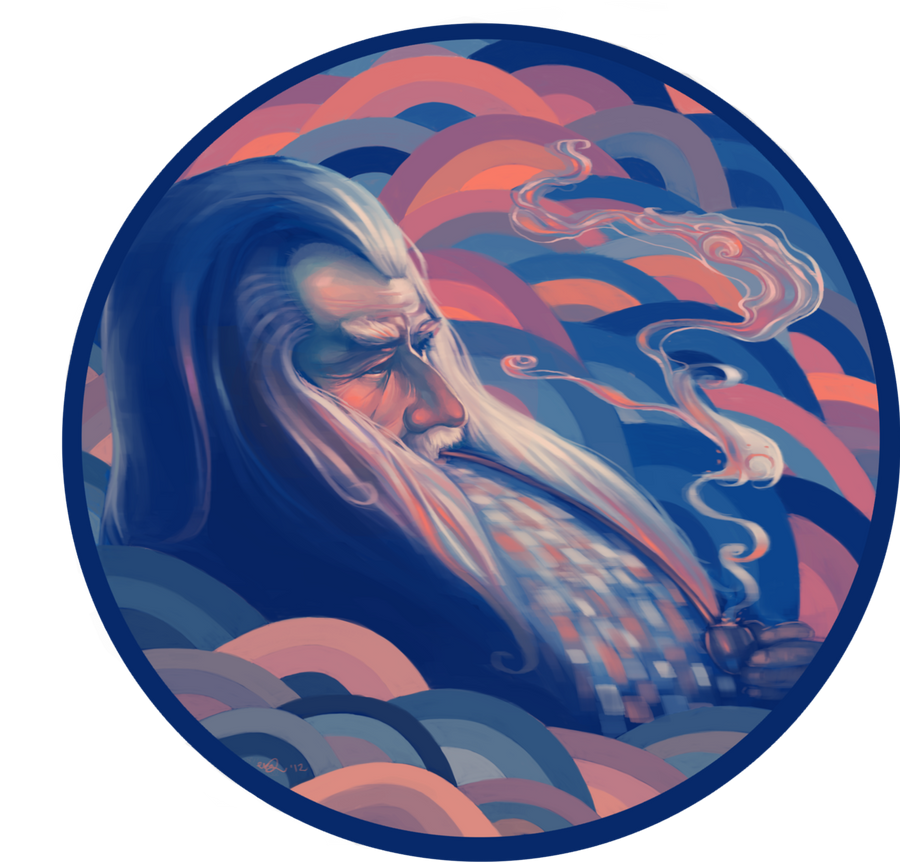 Gandalf the Fabulous? by eeks