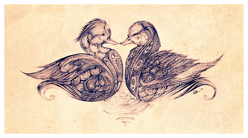 Valentine's Ducks by eeks