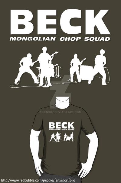 Beck Mongolian Chop Squad T Shirt Phone Case By Fenx