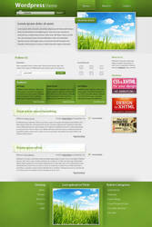 Wordpress Theme - Grass