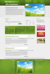 Wordpress Theme - Grass by HammHetfield