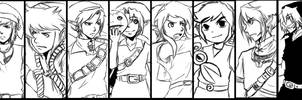 The many faces of Link