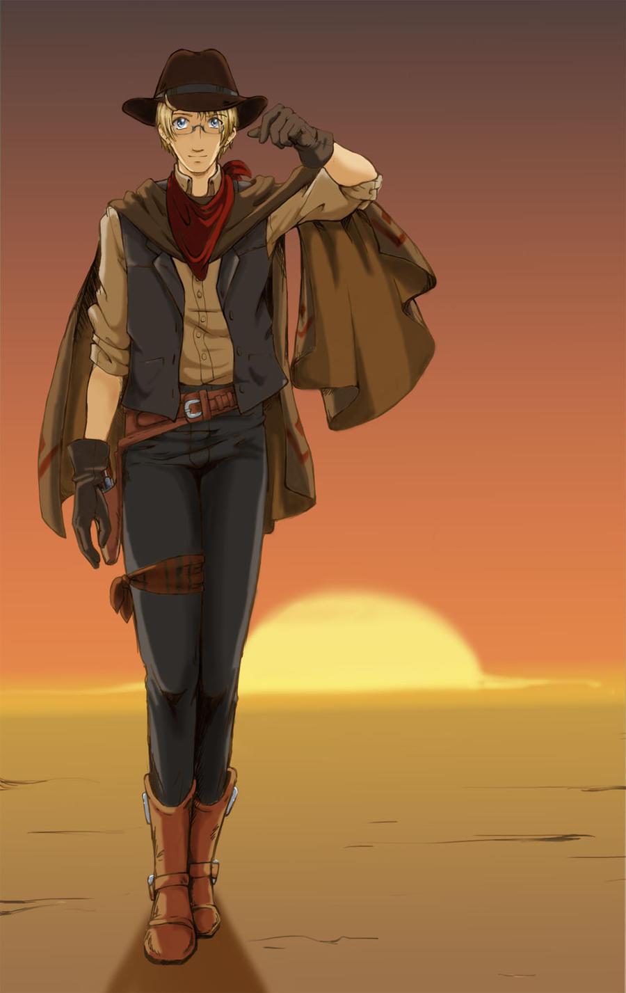 Gunslinger by ScarletteDiscord