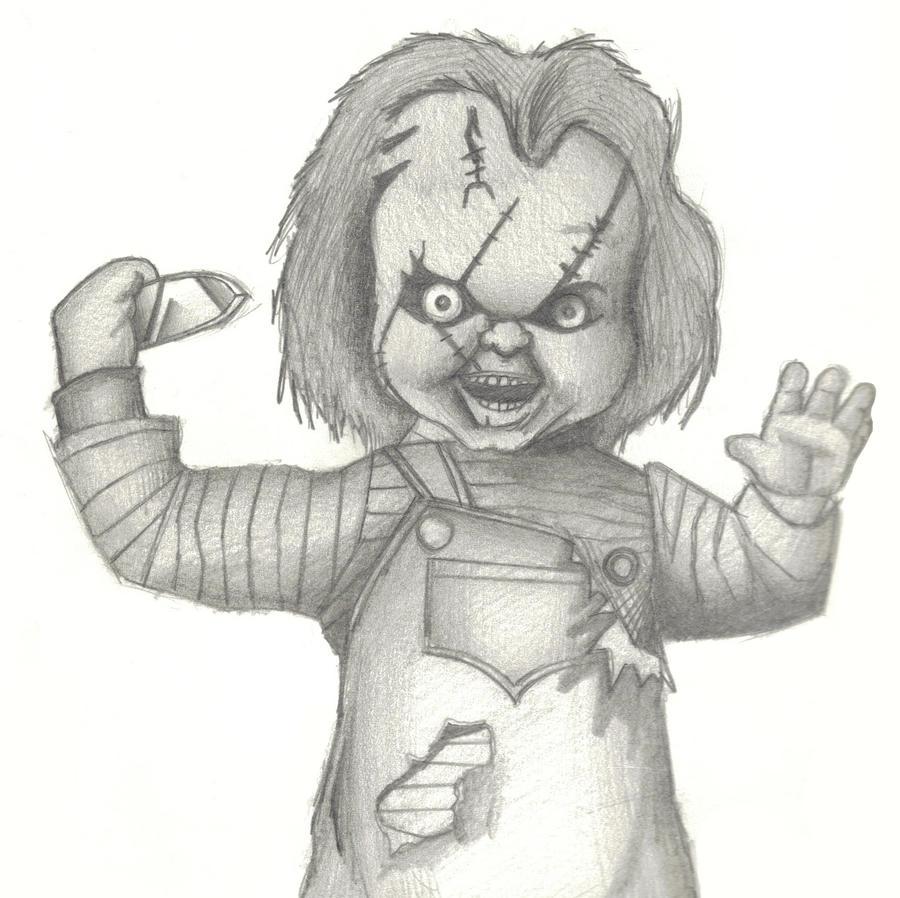 Chucky by oneeyedpauly on DeviantArt