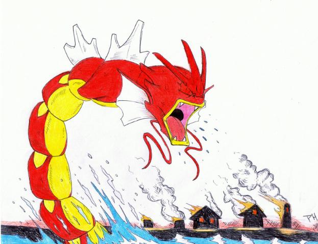 pokemon fire red gyarados
