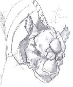 Grimmjow sketch 2