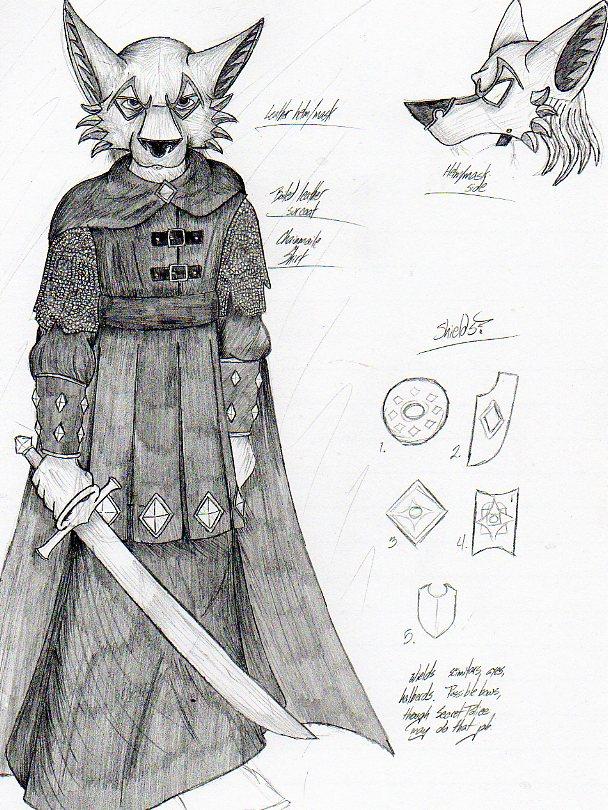 New Dar-Koldor Wolf Soldier by LordFenrir