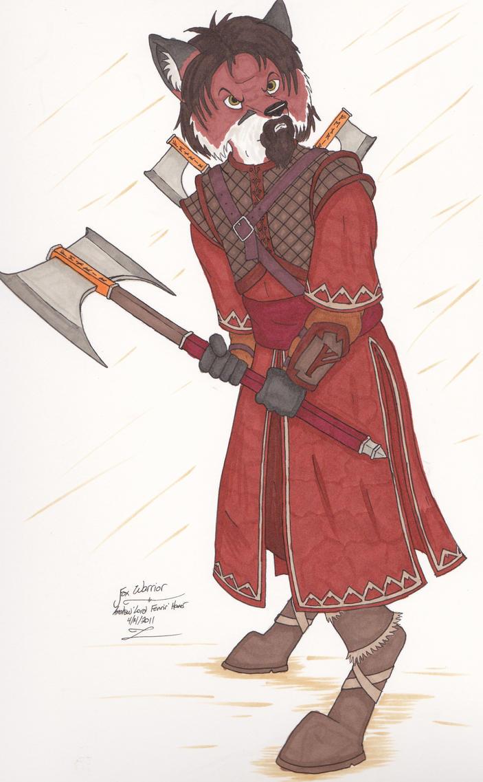 Anthro Fox Warrior | www.imgkid.com - The Image Kid Has It!