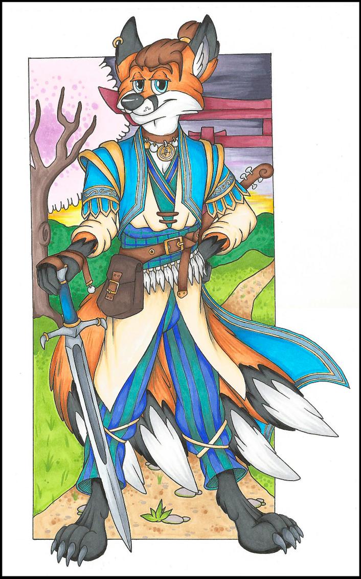 Kitsune Bard Pathfinder