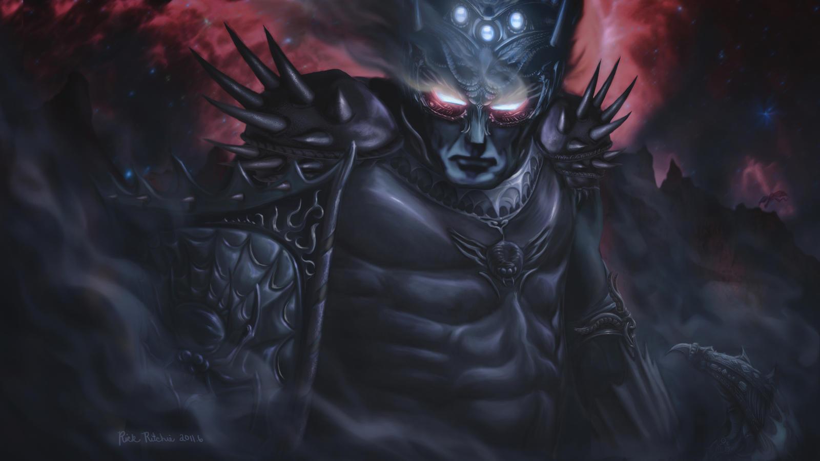 Morgoth  The Black Foe by rinthcog