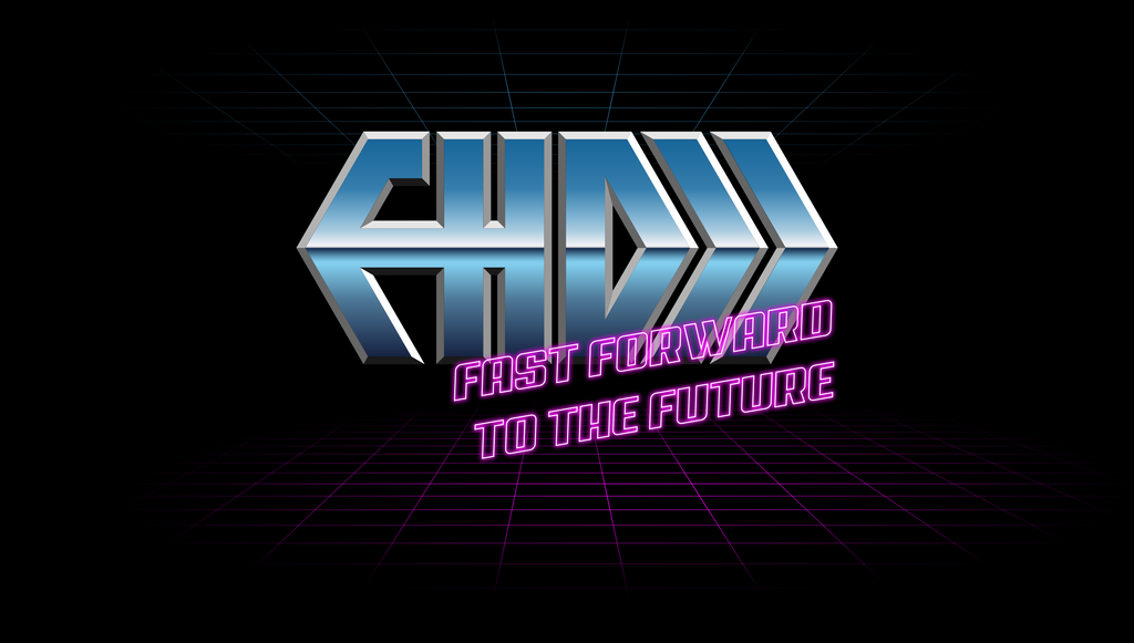 Fragments of a Hologram Dystopia Logo #2 by NormanVauxhall