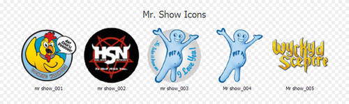 Mr. Show Icons by vannoy