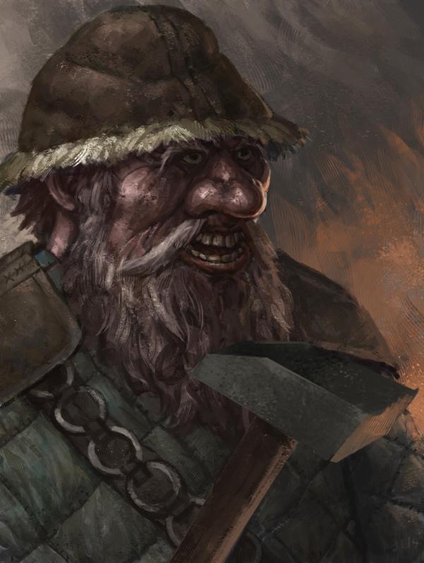 Dwarf Bandit by jlewenhagen