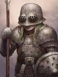 Dwarf Female Gladiator