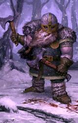 Dwarf Berserker by jlewenhagen