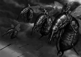 Bloatfly Demons by jlewenhagen