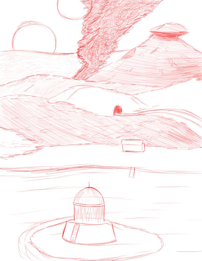 Scenery practice by Warlock0103