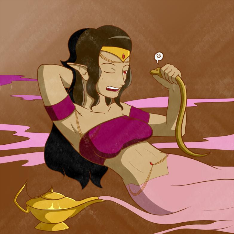 Genie Girl Deviantart