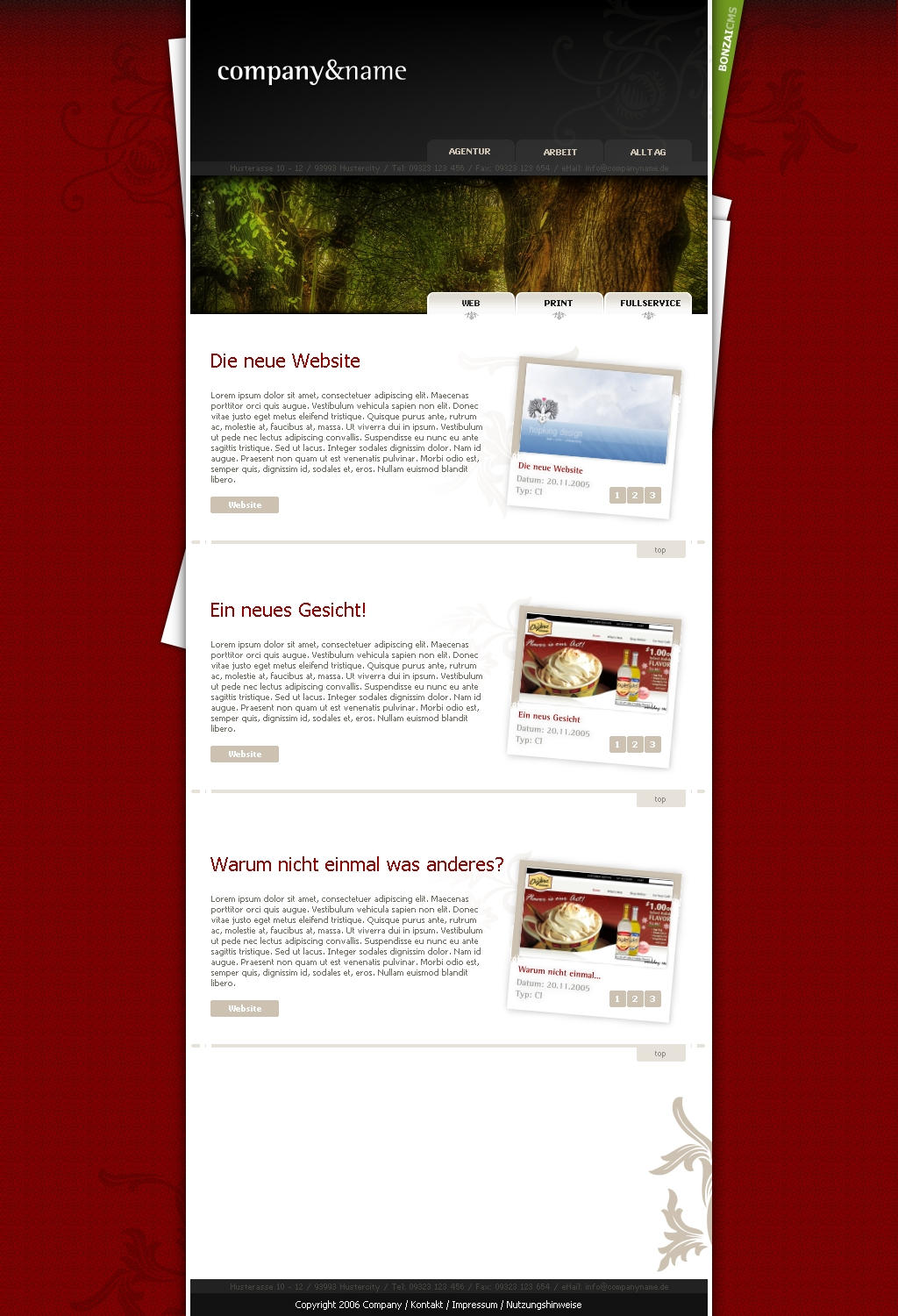 Company Website by Whizzler