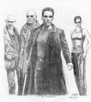 The Matrix by RavensHaelo