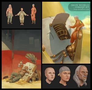 Iron World - Characters
