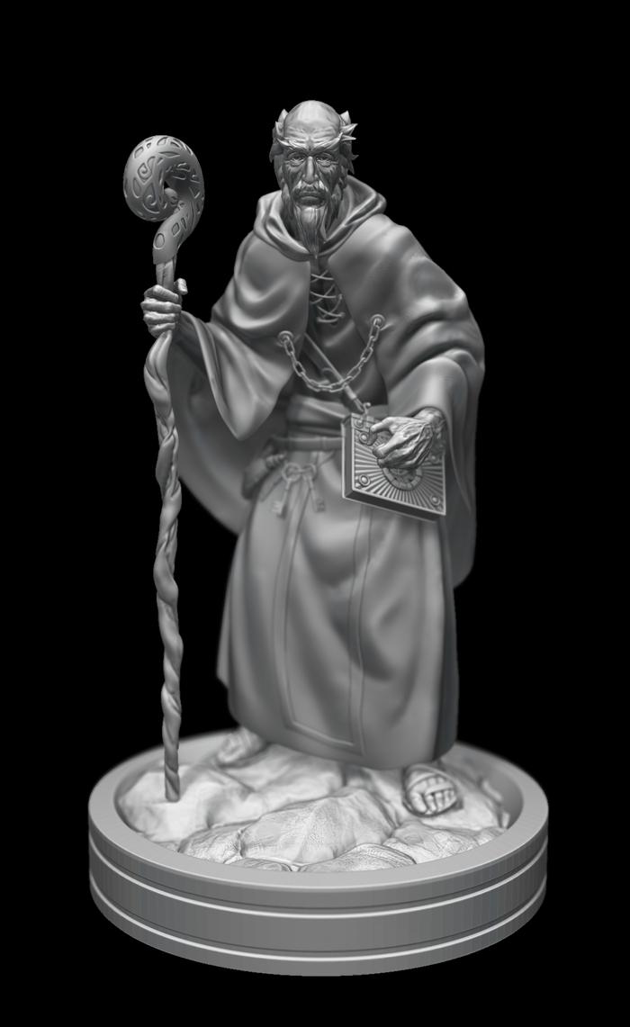 Old Sorcerer by LeoGr