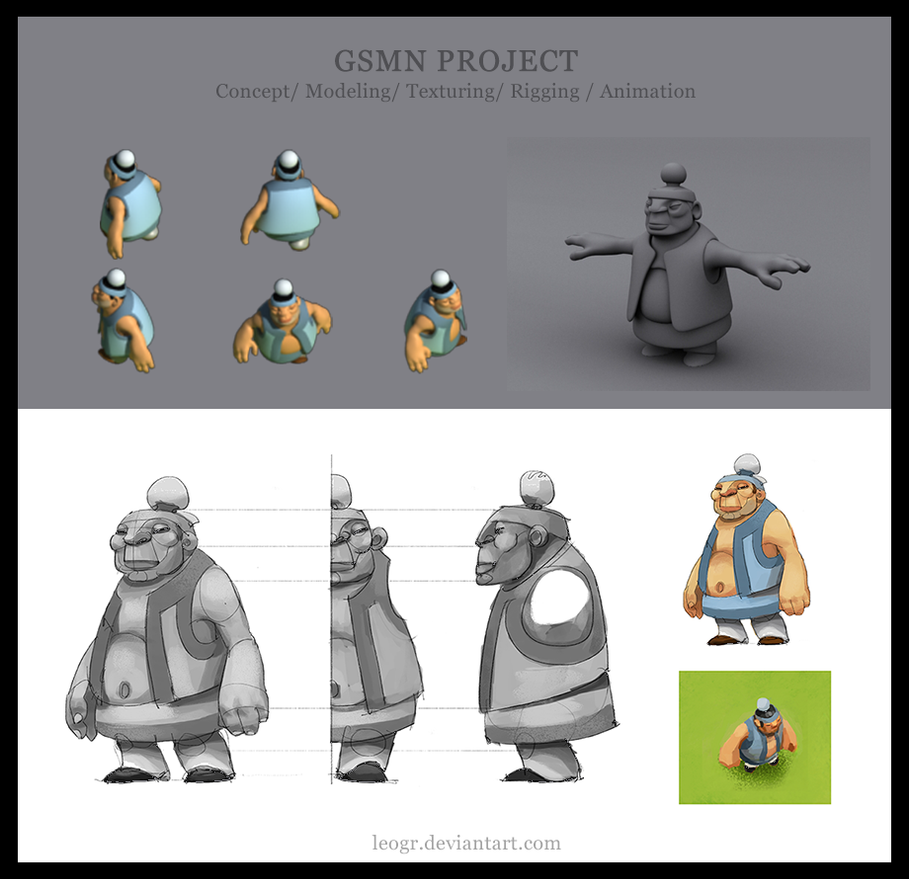 GSMN - 3d works by LeoGr