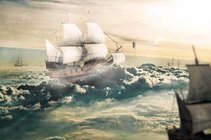 Tha Lost Ships in the Sky by TahaAlasari