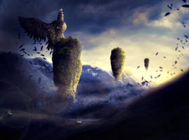 The Great Hawk Down by TahaAlasari