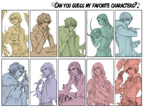 Favourite Characters Meme
