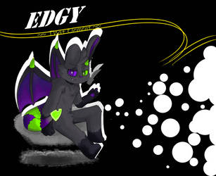 Edgy (fanart) by ThatElement