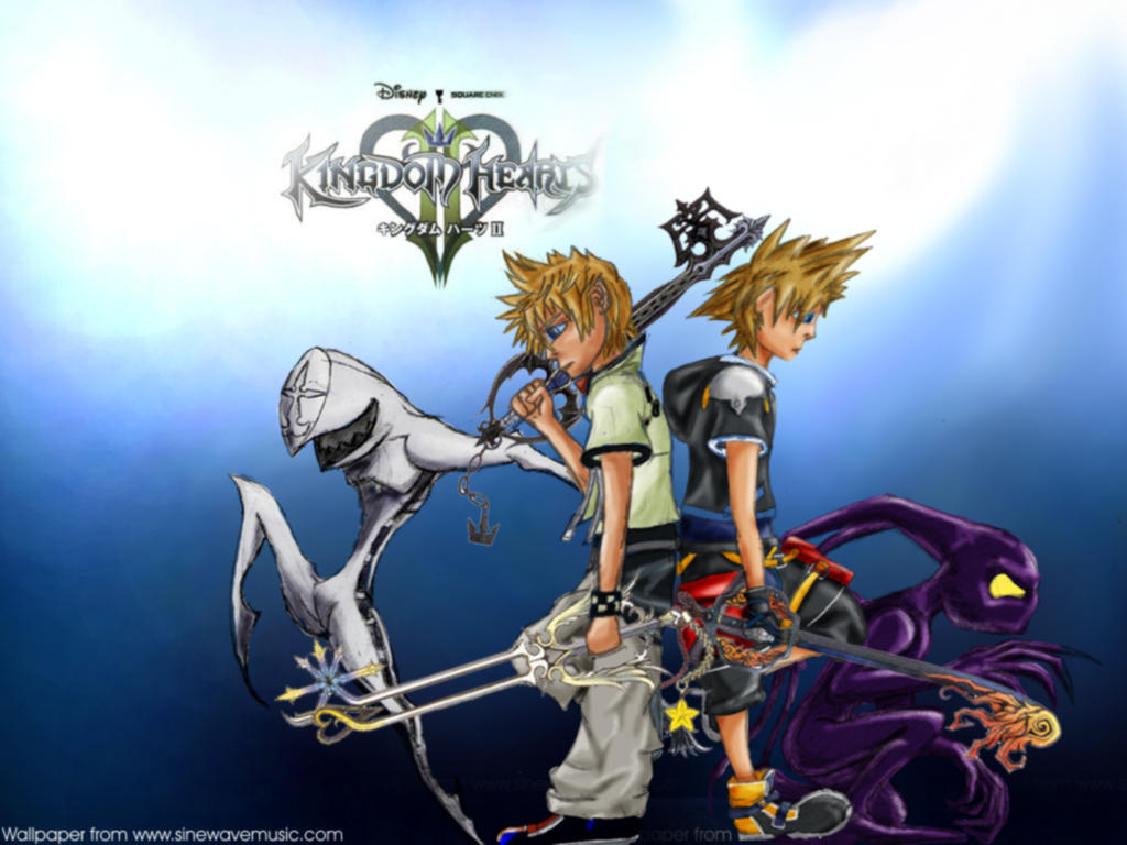 Kingdom Hearts 2 WALLPAPER By Rubbafishe On DeviantArt