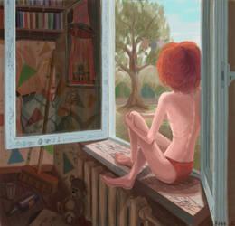 On the window by Jess-L0