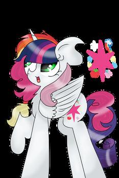 Mane Six fusion- Princess Harmony