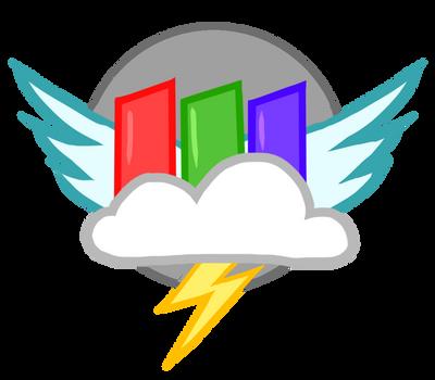 My ver- Rainbow Factory Logo