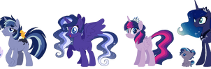 Winterverse: TwiLuna Family