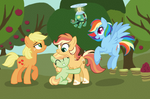 Winterverse: AppleDash Family