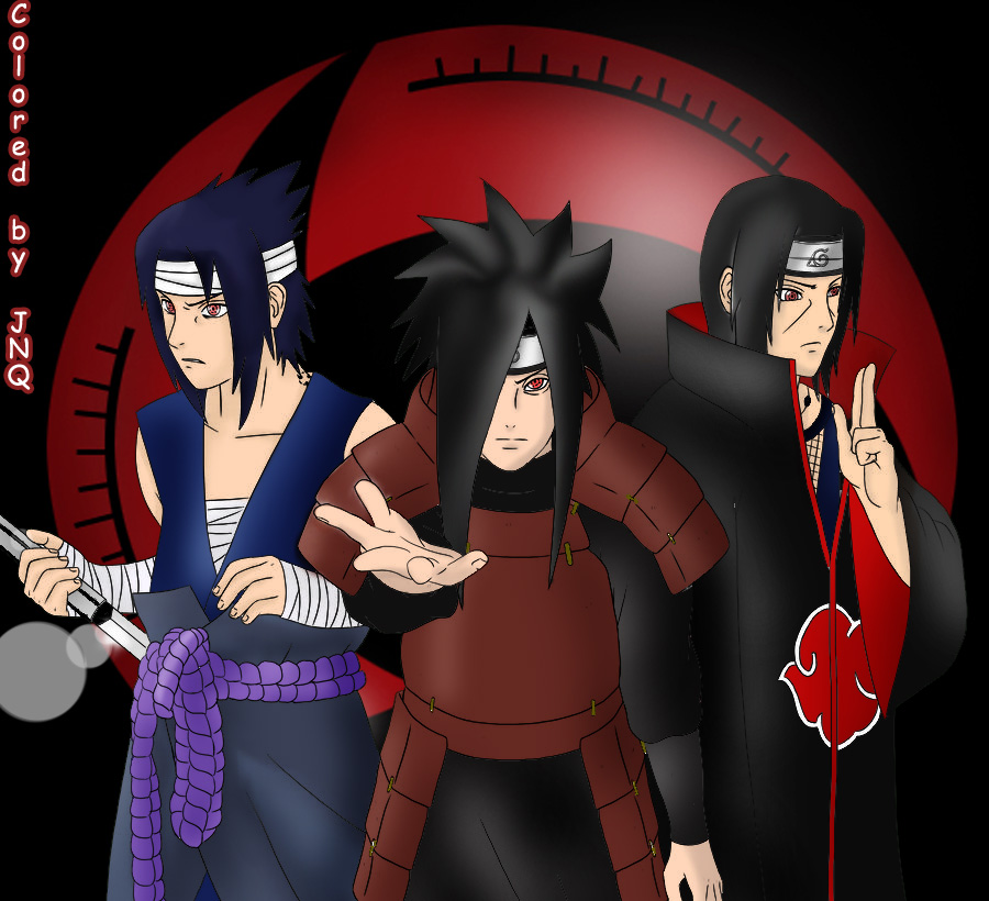 Uchiha Clan by JNQz1n