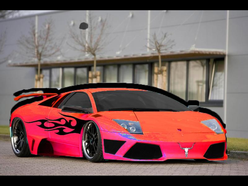 Lamborghini Pimped by pimpinmachine on DeviantArt