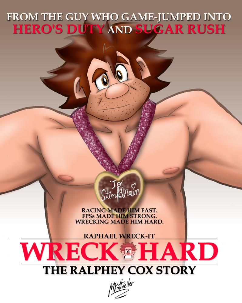 Wreck Hard: The Ralphey Cox Story by MRottweilerDogBarks