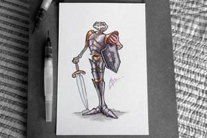Watercolour - Sir Daniel Fortesque