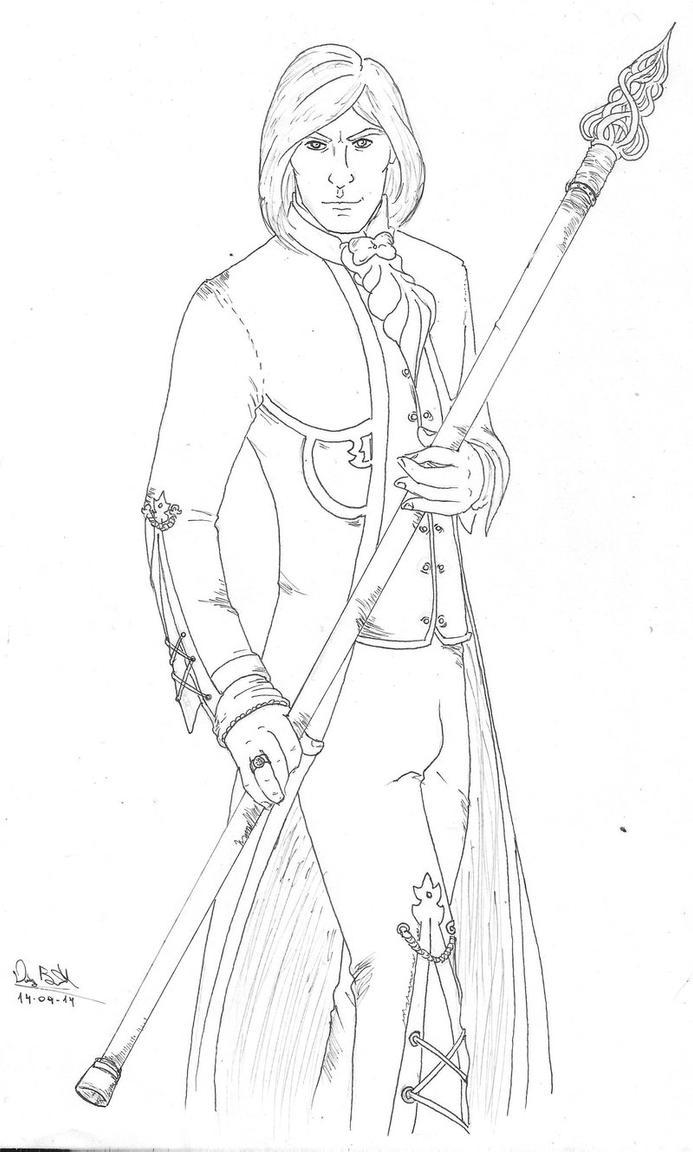 Lord Tehr Kahiel ir'Wynt by DiegoBastet by Dosrev